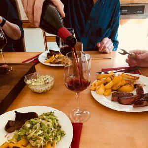 [Sisters in wine] Foodpairing - Steak und Wein